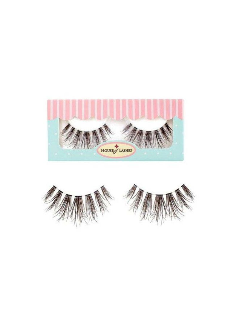 764eee38e6 Shop HOUSE of LASHES Pair Of 2 Bambie False Eyelash Set Black online ...