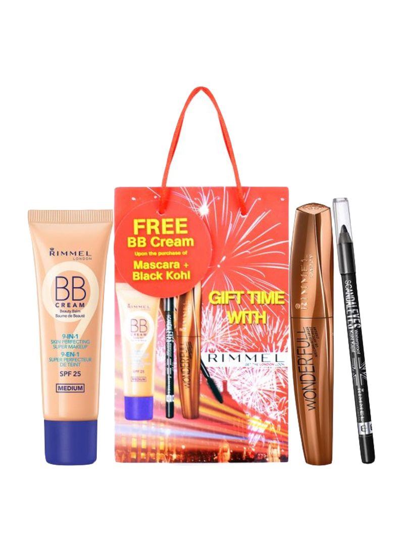 Shop RIMMEL LONDON 3-Piece Makeup Kit