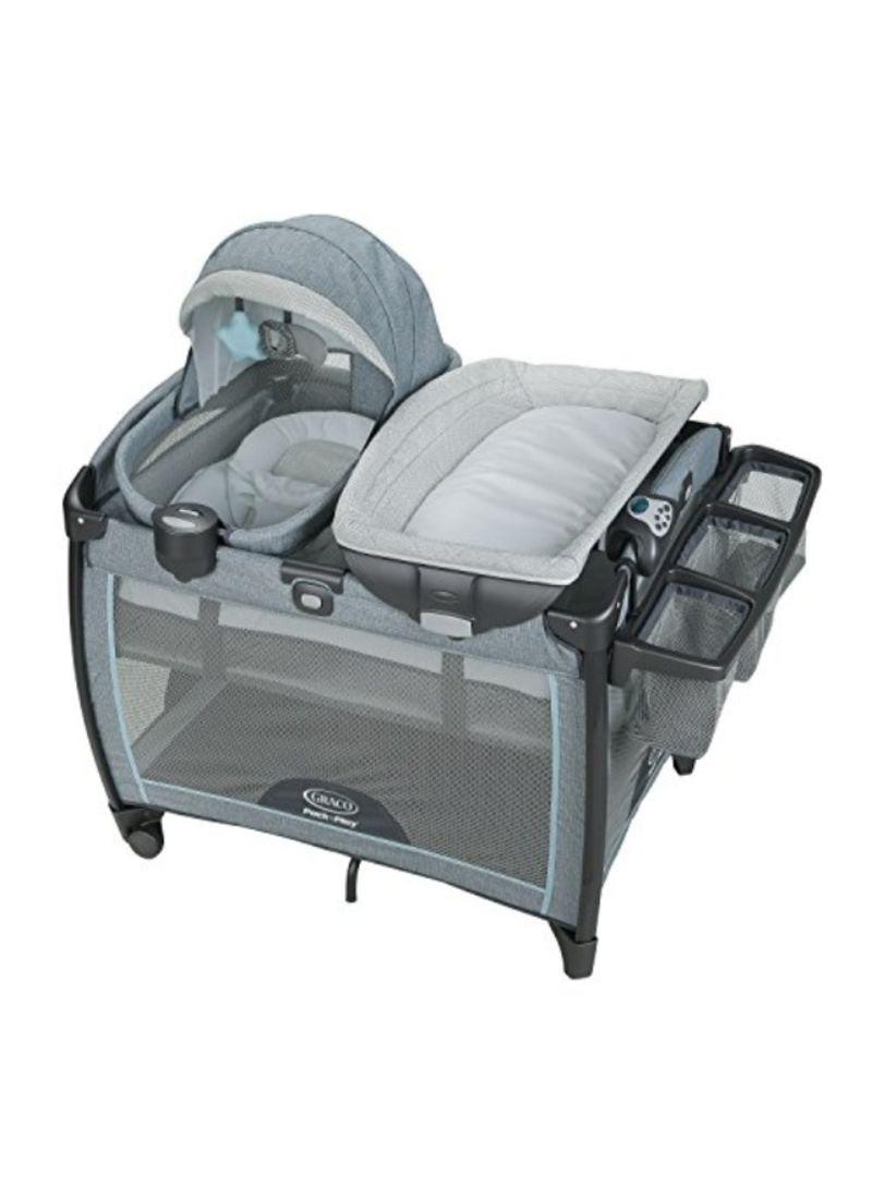 Shop Graco Pack N Play Bedside Sleeper Cradle Online In Dubai Abu Dhabi And All Uae