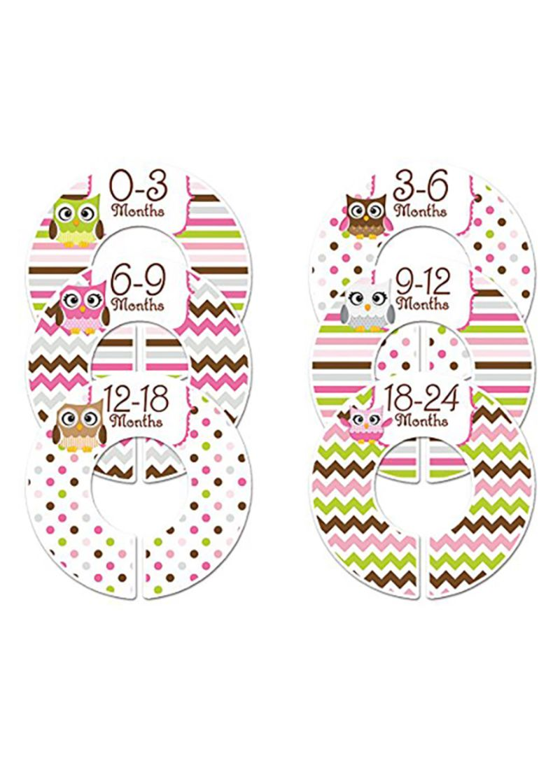 5037c7dc9 Shop Closet Doodles Baby Clothing Dividers Set Of 6 online in Egypt