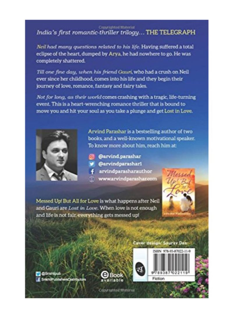 Shop Lost In Love Paperback 1st Edition online in Dubai, Abu Dhabi and all  UAE