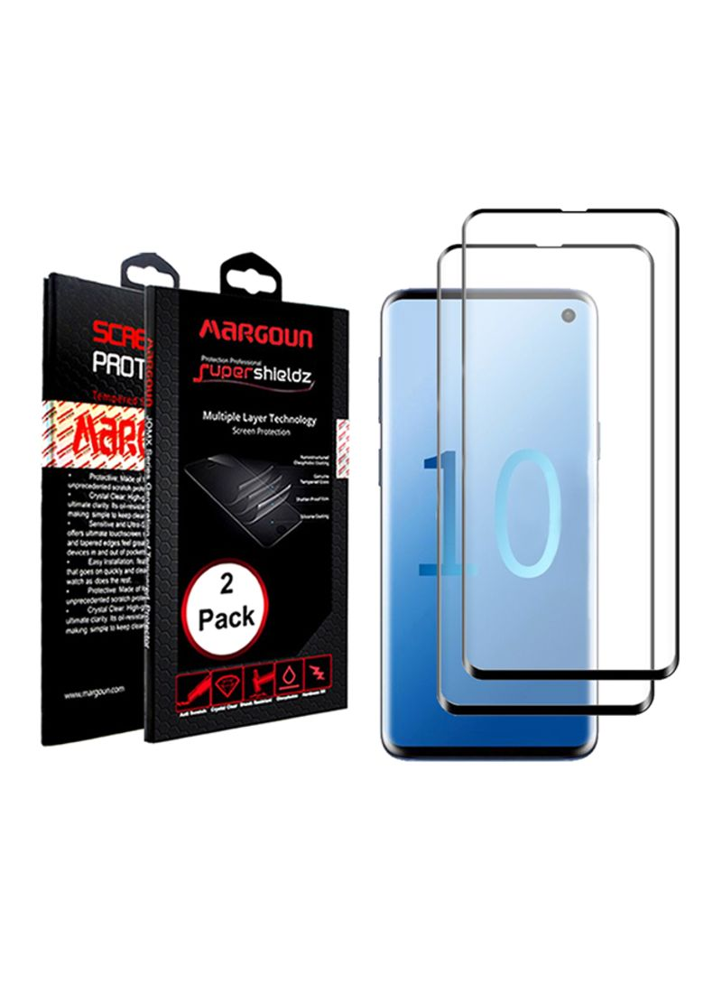 Shop MARGOUN Pack Of 2 5D Screen Protector For Samsung Galaxy S10 Lite  Clear online in Dubai, Abu Dhabi and all UAE