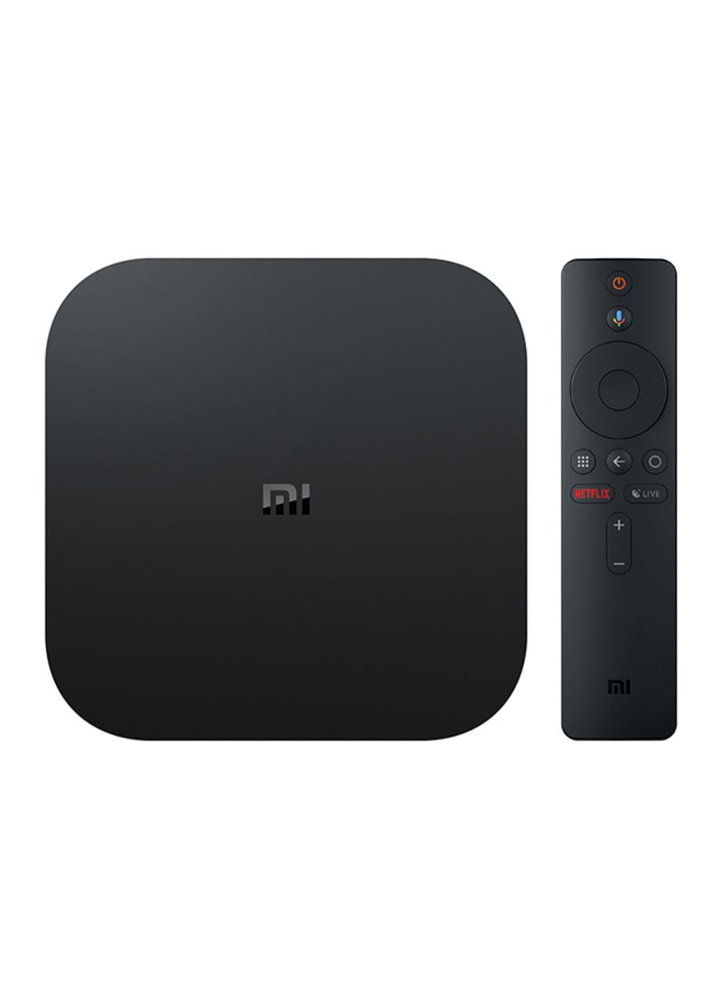 Shop Xiaomi Mi Box S with 4K HDR Android TV Streaming Media Player and  Google Assistant Remote Cortex-A53 Quad Core 64 bit Mali-450 Android 8 1  2GB