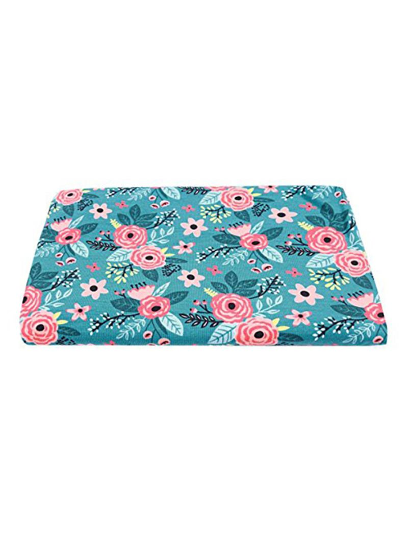 YiZYiF Newborn Baby Swaddle Wrap Photography Blanket with Flower Headband Set