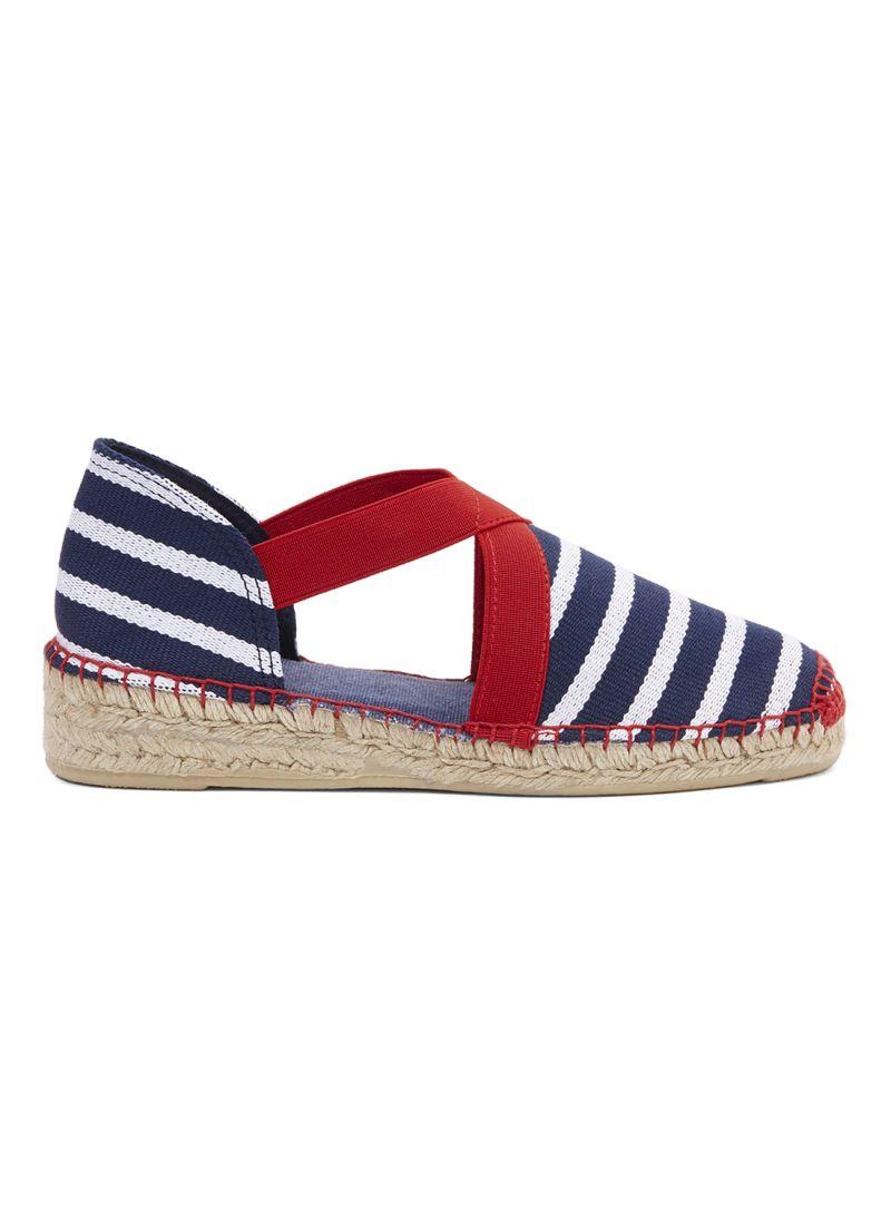تسوق توني بونز وحذاء قماشي بأشرطة من المطاط ونعل مسطح أونلاين في السعودية