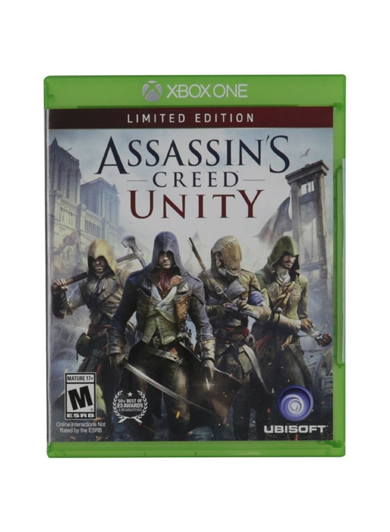 Assassin S Creed Unity The Limited Edition By For Xbox One Price In Saudi Arabia Noon Saudi Arabia Kanbkam