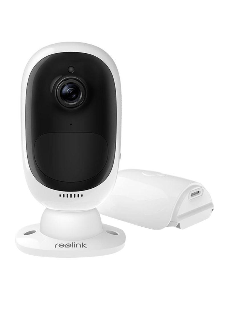 تسوق ريولينك وكاميرا مراقبة أمنية بدقة عالية الجودة تبلغ 2 ميجابكسل ومزودة بتقنية الواي فاي ورؤية نهارية ليلية ومعدل حماية من الظروف الجوية Ip أونلاين في السعودية