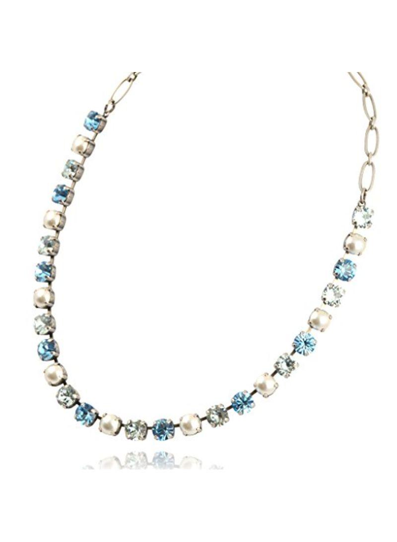 bc168b0504165 Shop Mariana Brass Swarovski Plated Charm Necklace online in Dubai, Abu  Dhabi and all UAE
