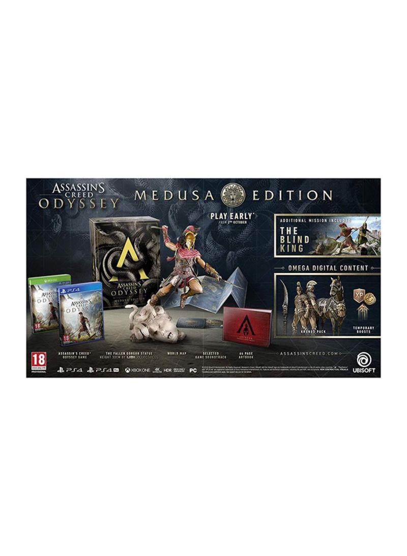 Shop Ubisoft Assassins Creed Odyssey Medusa Edition Playstation