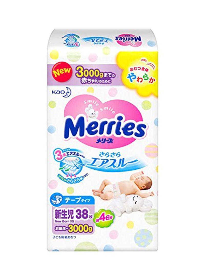 Shop KAO Merries Sarasara Air Through Newborn Infants