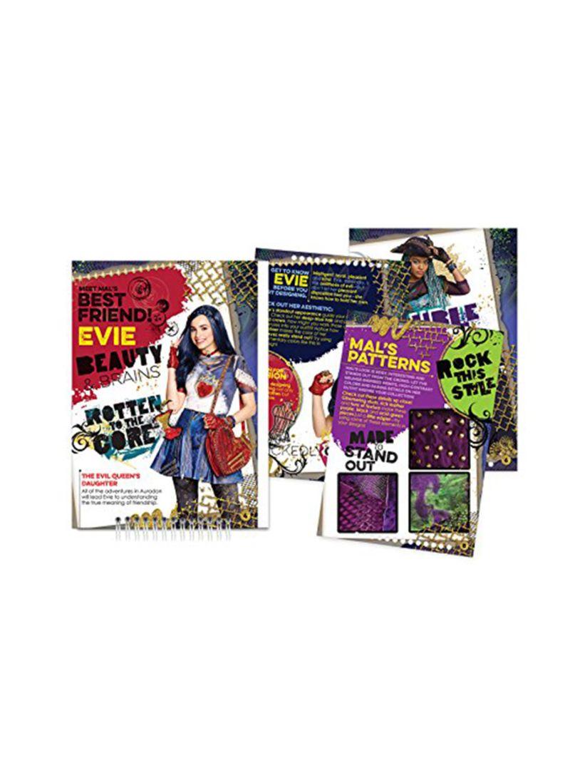 Shop Make It Real Disney Descendants 2 Fashion Design Sketchbook Online In Dubai Abu Dhabi And All Uae