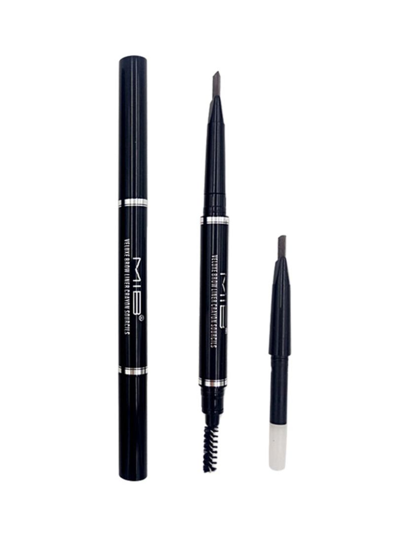 Shop Mib Eb 06 03 Brow Liner With Double Pen Replaceable Eyebrow Pencil Dark Brown Online In Dubai Abu Dhabi And All Uae