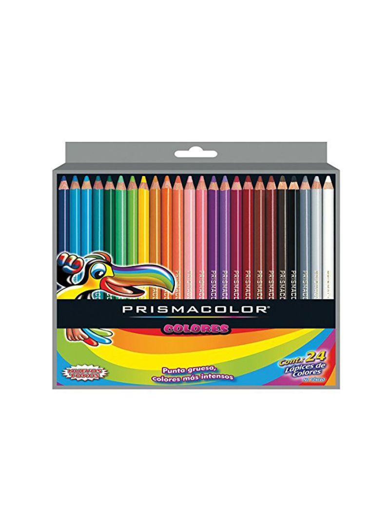 Shop Prismacolor 24 Piece Scholar Colored Pencil Set Red