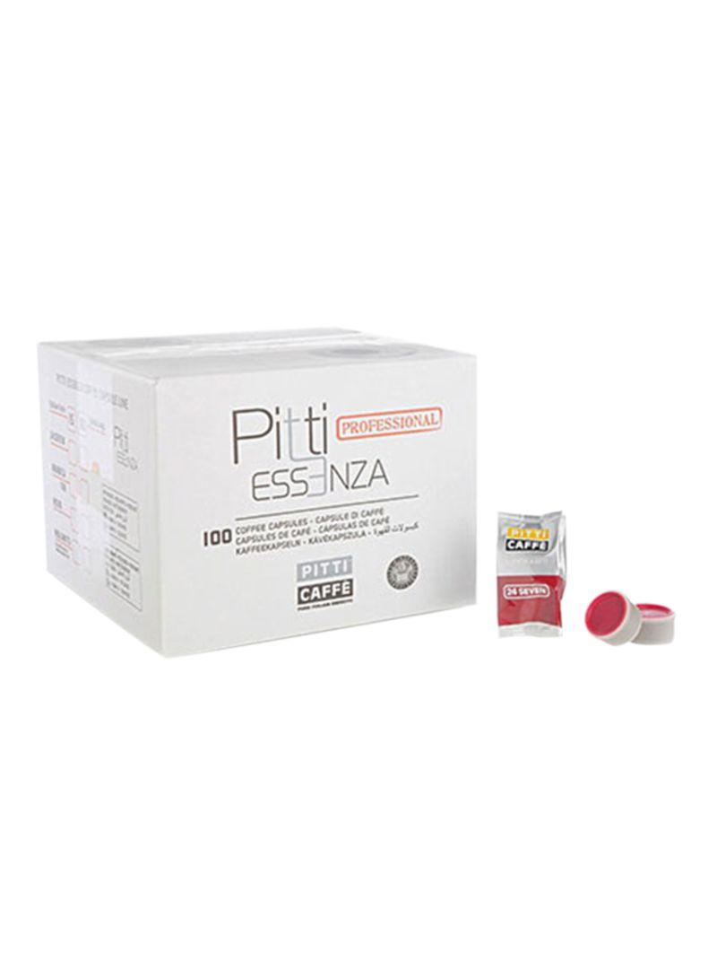 100 Capsule- Essenza 24 Seven Espresso Coffee 690g