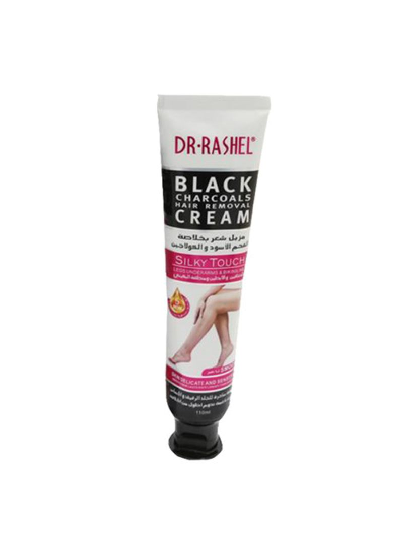 Buy Now Dr Rashel Black Charcoals Hair Removal Cream 110 Ml
