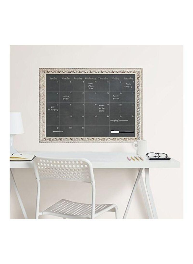 Black WallPops WPE2489 Circa Monthly Calendar
