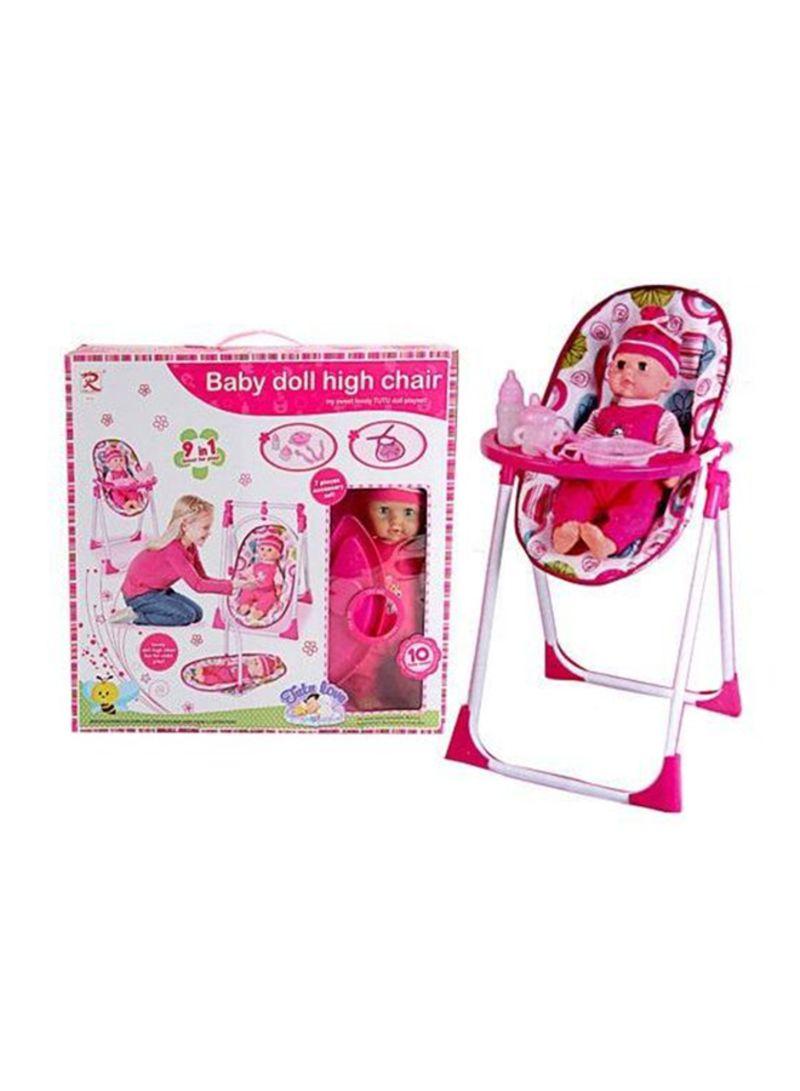 Shop 9 In 1 Baby Doll High Chair Set Online In Dubai Abu Dhabi