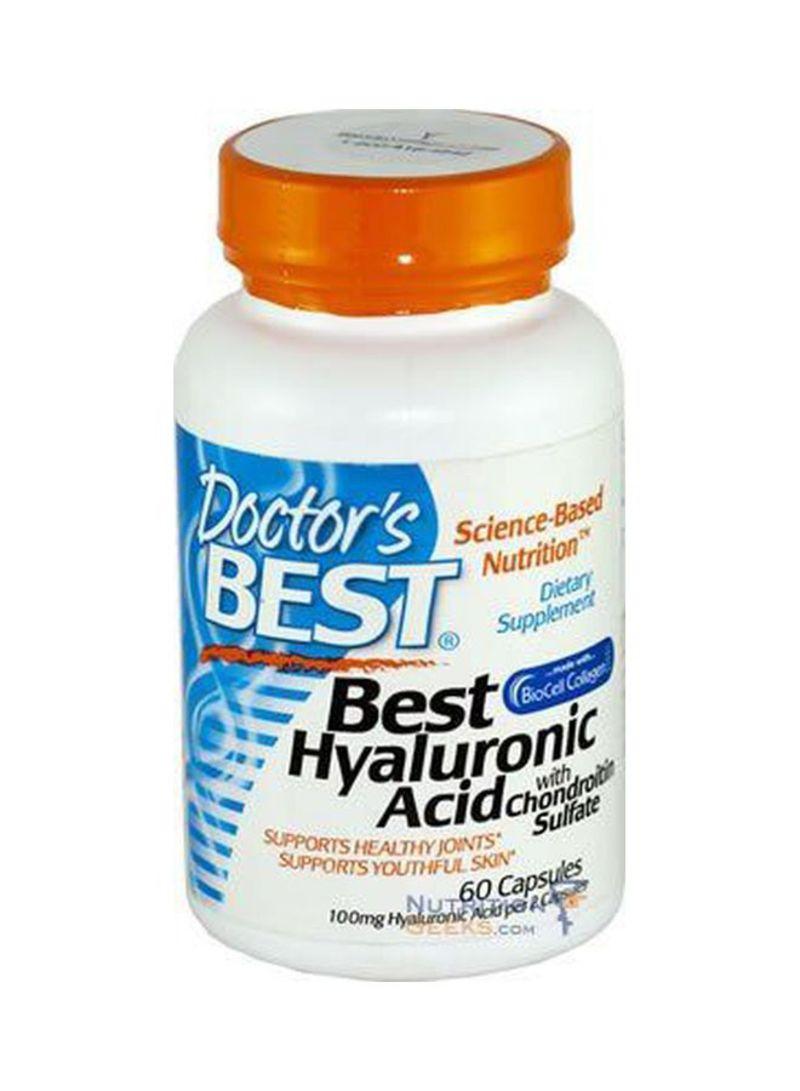 تسوق دكتورز بيست وBest Hyaluronic Acid With Chondroiton Sulfate-180  Softgels أونلاين في الإمارات