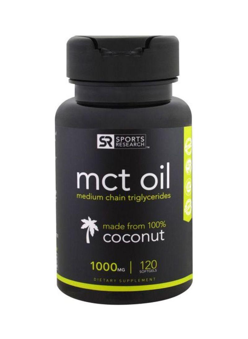 m c t oil dietary supplement