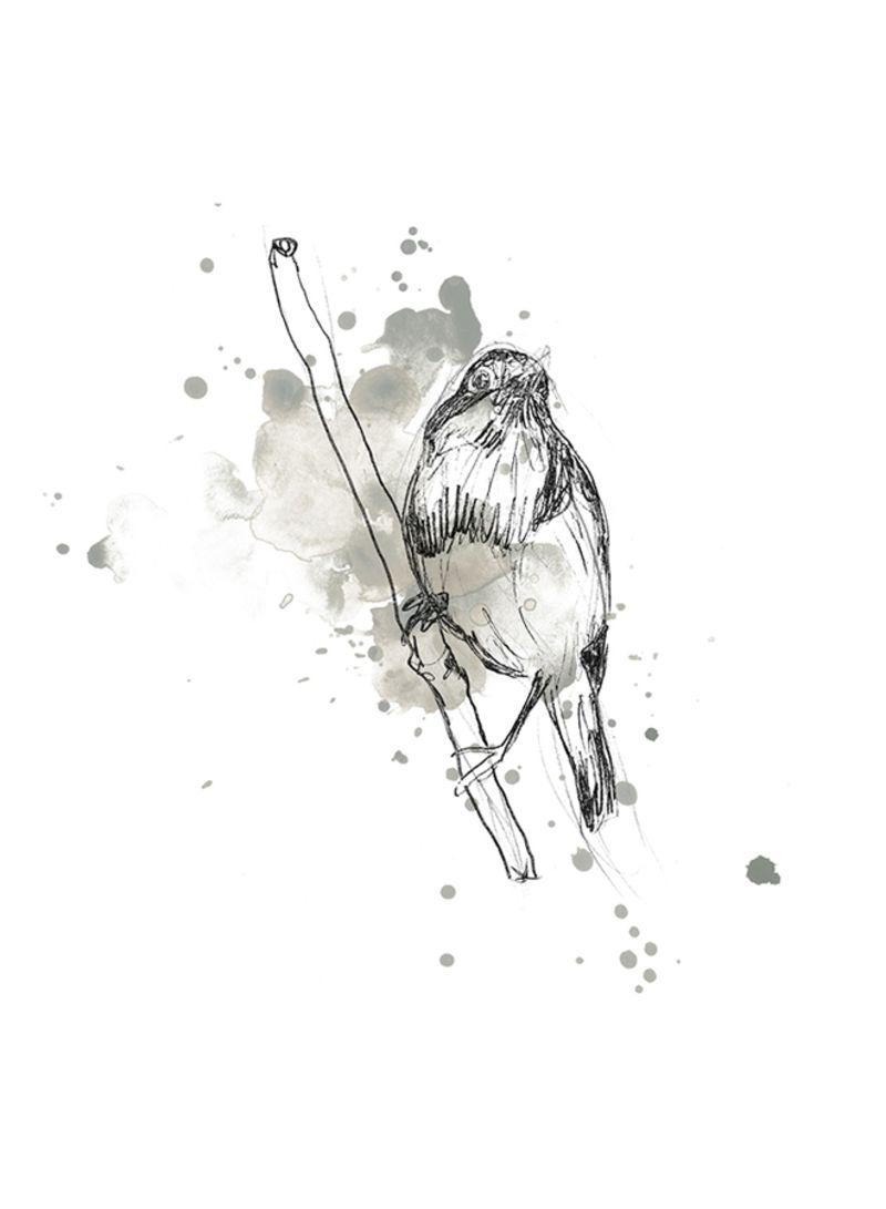 "Poster Print /""Bird Nest Study III/"""