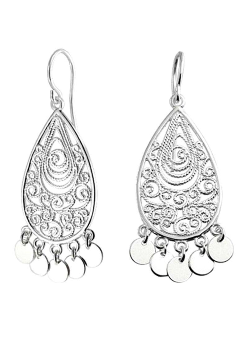 66eef52951140 Shop Bling Jewelry 925 Sterling Silver Boho Indian Style Earrings ...