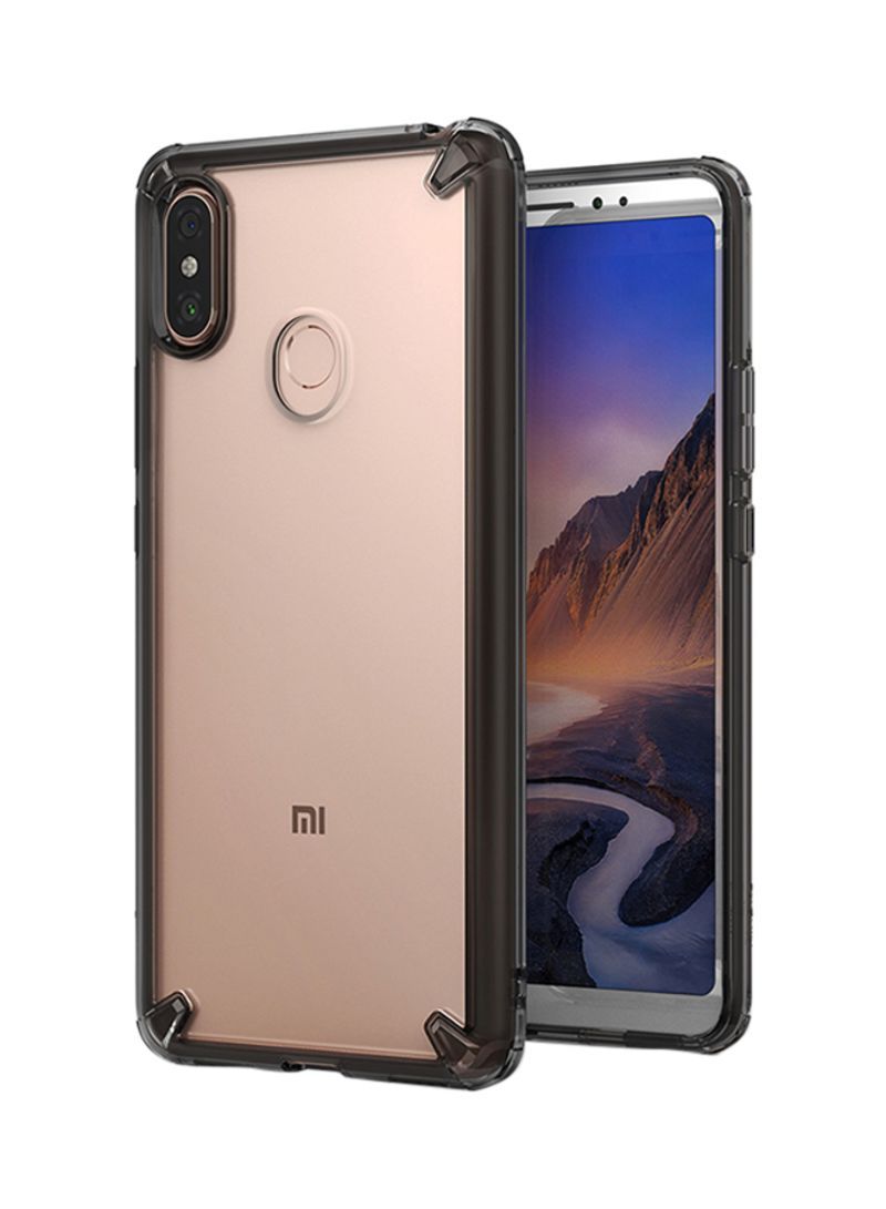 huge selection of a2259 45ad1 Shop Rearth Protective Case Cover For Mi Max 3 Smoke Black online in Dubai,  Abu Dhabi and all UAE