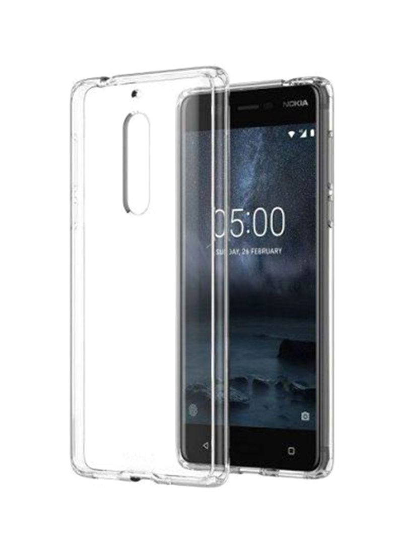 official photos 718a1 a96da Shop Generic Protective Case Cover For Nokia 5 Clear online in Riyadh,  Jeddah and all KSA