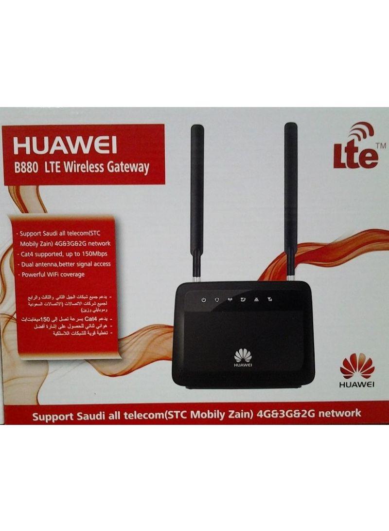 Shop Huawei LTE Wireless Gateway 150 mbps Black online in Riyadh, Jeddah  and all KSA