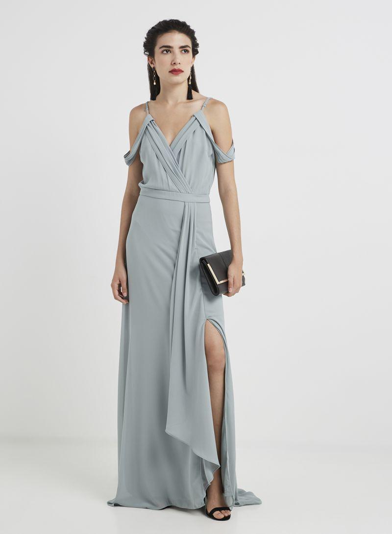 df1723580fe1 Shop TFNC London Tfnc Wedding Reynalda Maxi Dress Green online in ...