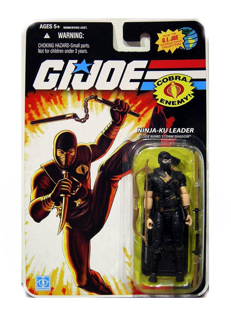 Shop G  I  Joe Ninja Ku Leader 25th Anniversary Action Figure online