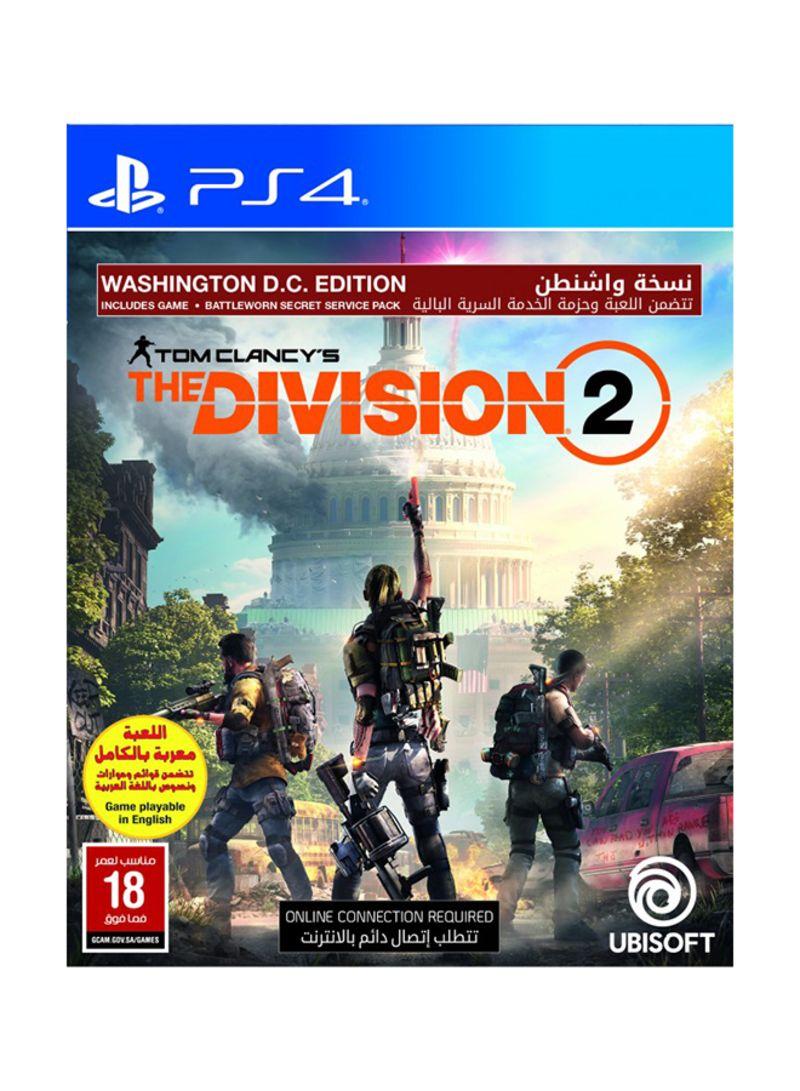 Shop Ubisoft The Division 2 Washington DC Edition - Playstation 4 GCAM  online in Dubai, Abu Dhabi and all UAE