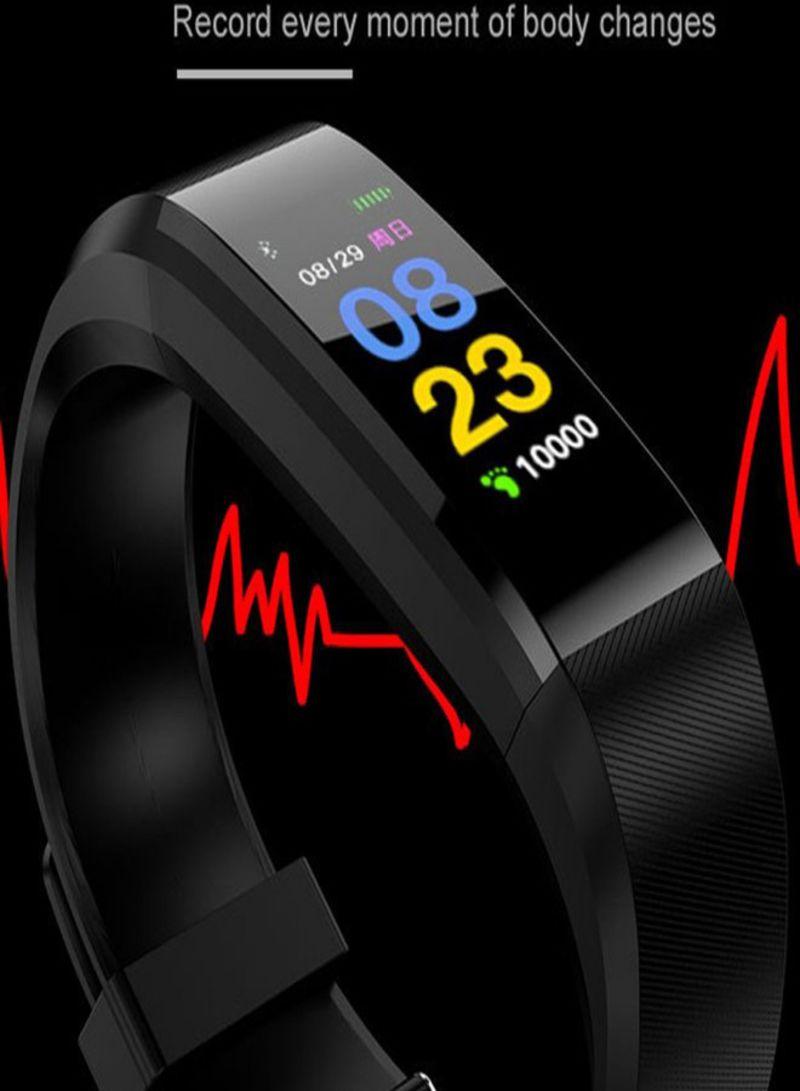 Shop Generic ID115 Sport Pedometer Fitness Tracker 80 mAh Black online in  Dubai, Abu Dhabi and all UAE