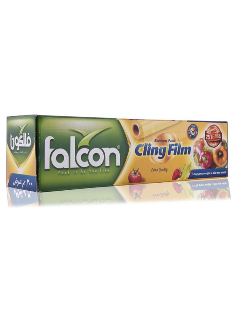 Shop falcon Economy Pack Cling Film Clear 30 centimeter