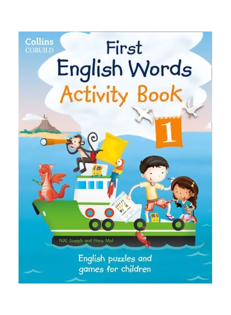 Shop First English Words Activity Book 1 Paperback online in
