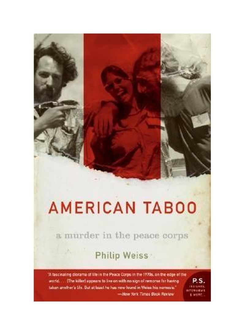 American Taboo Movie american taboo: a murder in the peace corps paperback
