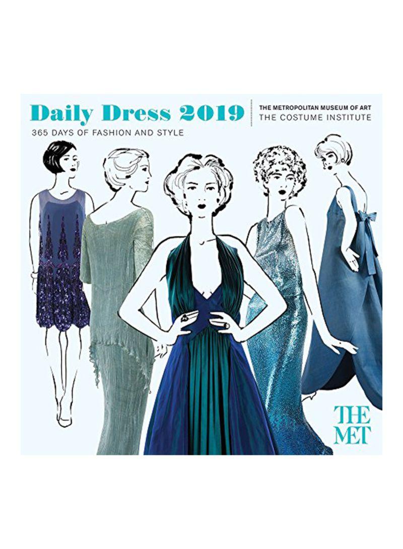 Shop Abrams More Than Book Daily Dress 2019 Wall Calendar Online In Riyadh Jeddah And All Ksa