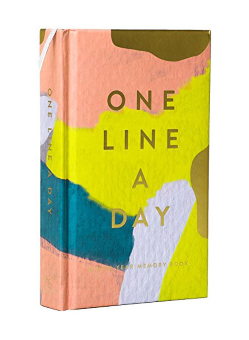 Shop Chronicle More Than Book Modern One Line A Day Notepad online in  Dubai, Abu Dhabi and all UAE