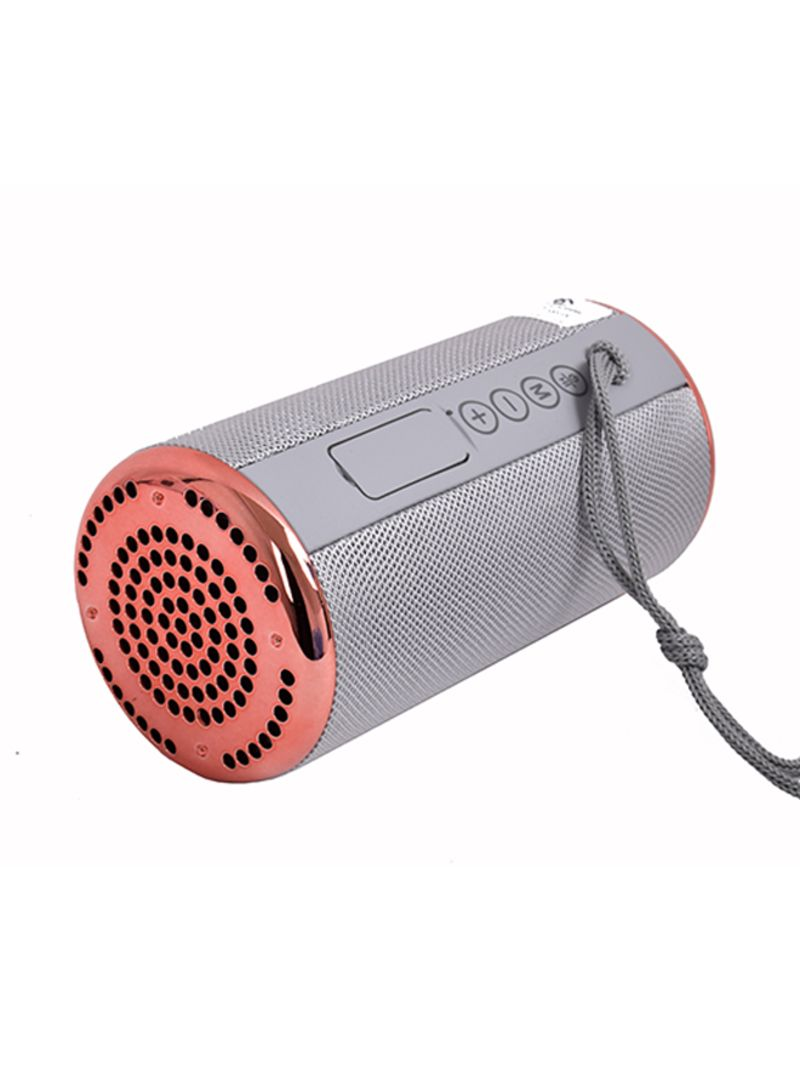 Shop T&G Bluetooth Speaker With Aux Wire Grey online in
