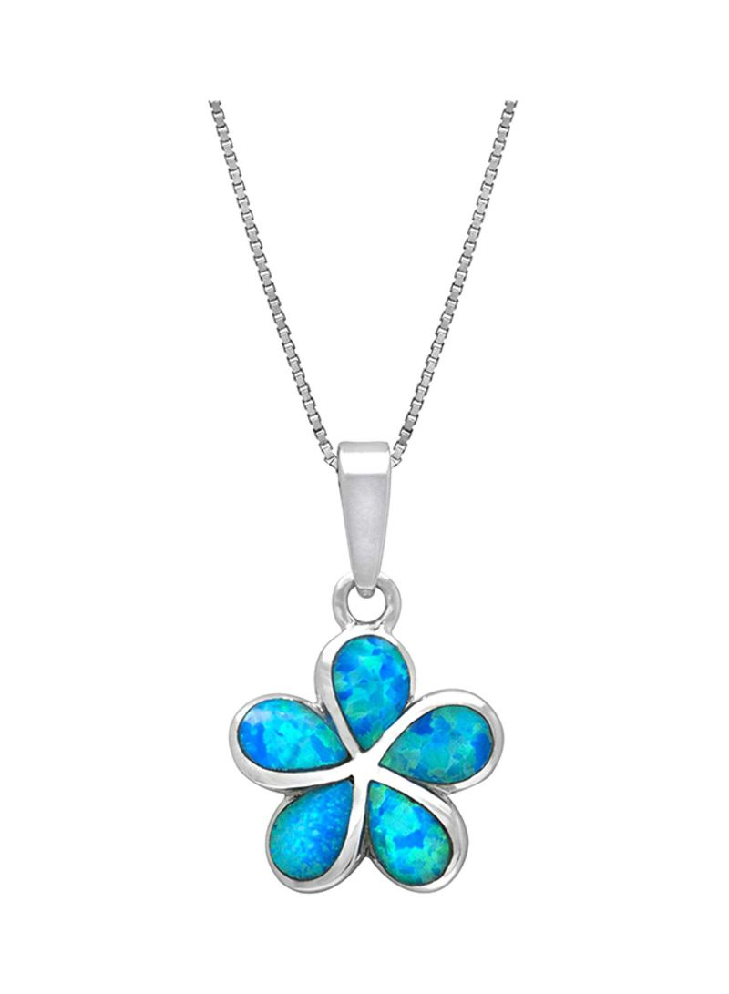 Shop Honolulu Jewelry Company Plumeria Flower Necklace Pendant