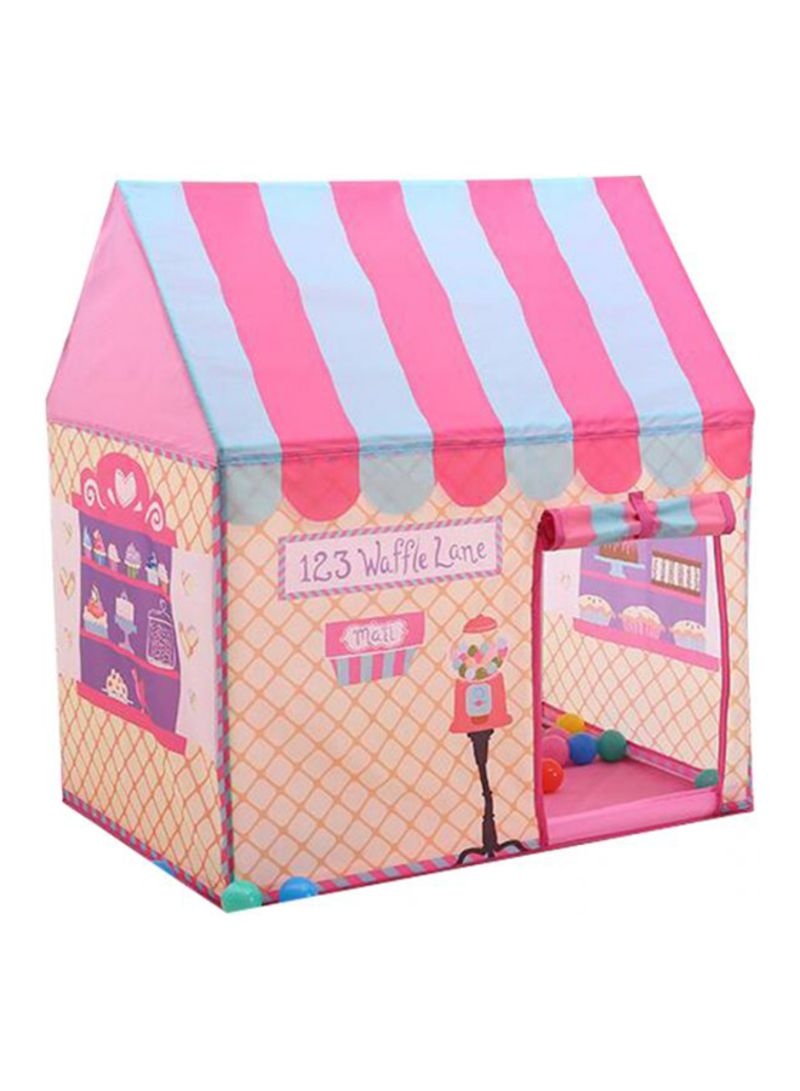 detailed look 0244c 4d4be Shop Generic Mini Dessert Princess House Play Tents With Double Sided Game  Mat online in Riyadh, Jeddah and all KSA