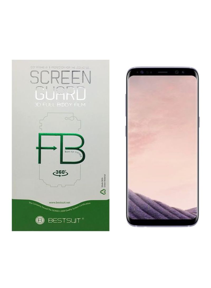 free shipping bdd78 61404 Shop BESTSUIT 3D Tempered Glass Screen Protector For Samsung Galaxy S8 Plus  Clear online in Dubai, Abu Dhabi and all UAE