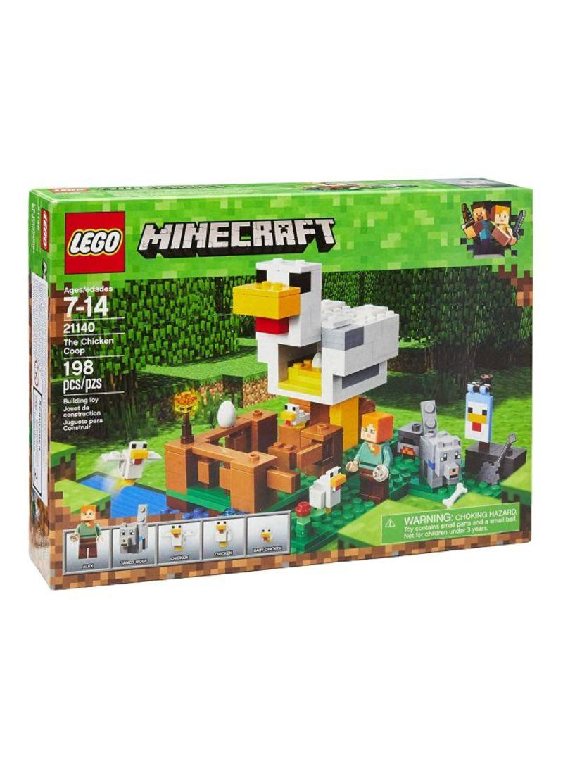 198 21140 Set Shop Lego Minecraft Chicken Building The Piece Coop nPmw0N8Oyv