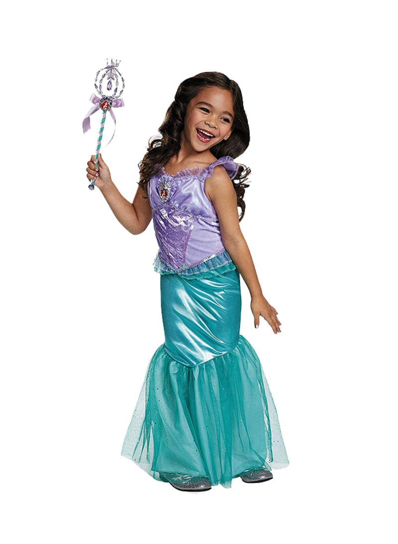 Toddler Girls Mermaid Costume Princess Ariel Generic Dress For Girls Party