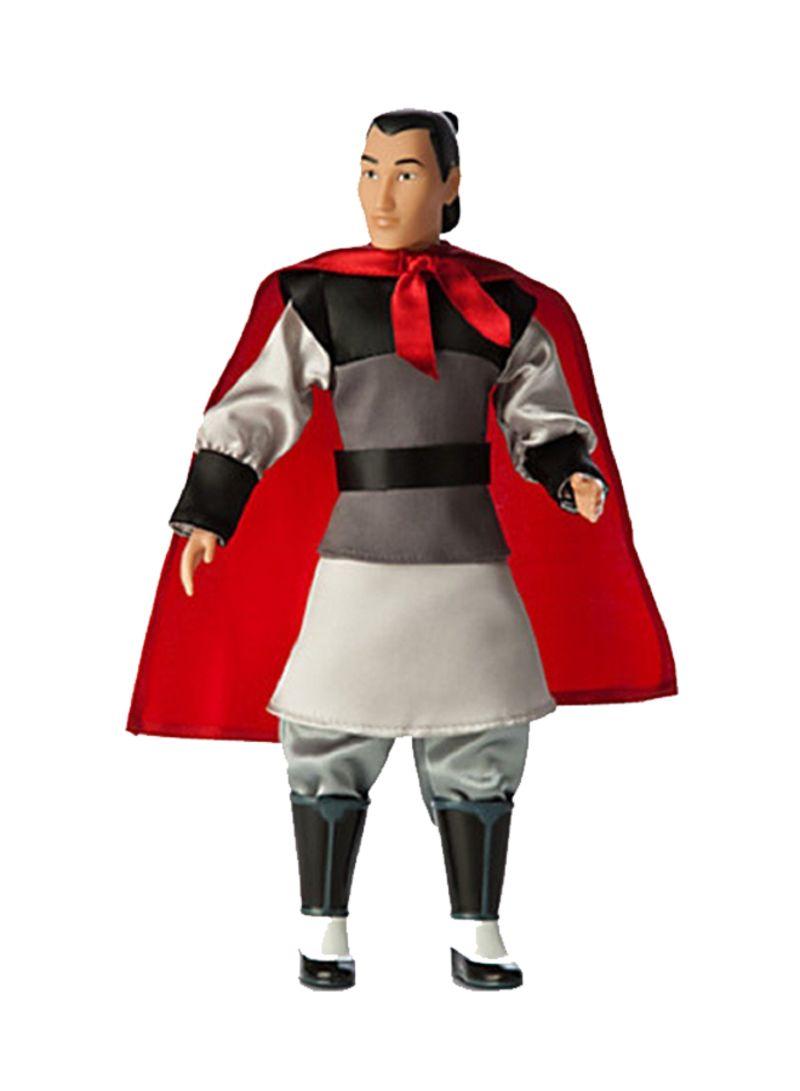 Disney Mulan Li Shang Classic Doll **BRAND NEW**
