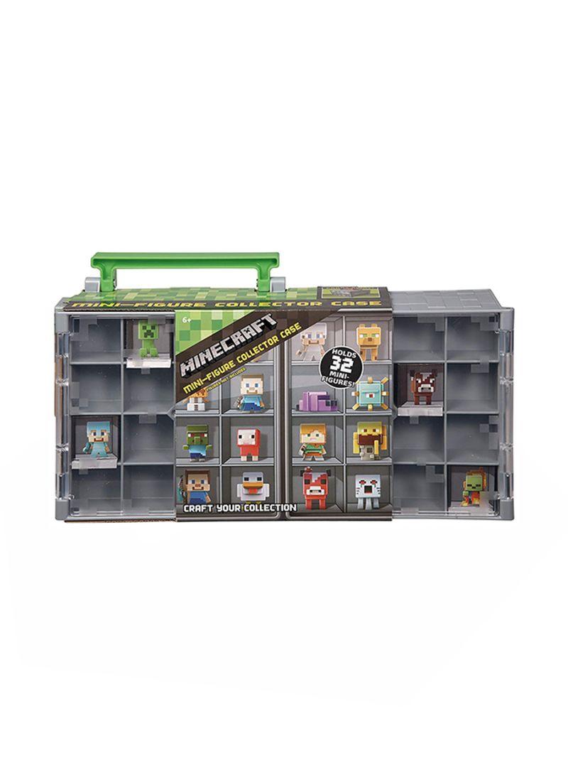 Minecraft Collector Case and Mini Figure