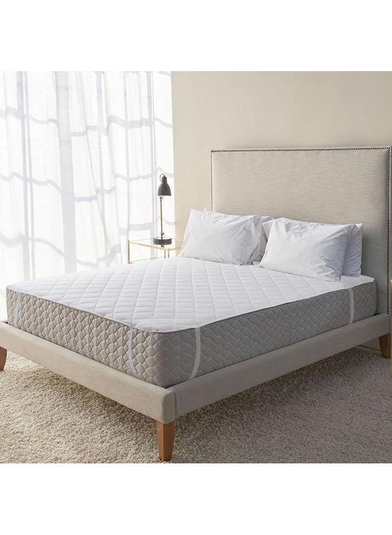 Mattress Toppers Protectors Silentnight Waterproof Mattress Protector Bed Sheet Double Bedding Home Furniture Diy 5050 Pk