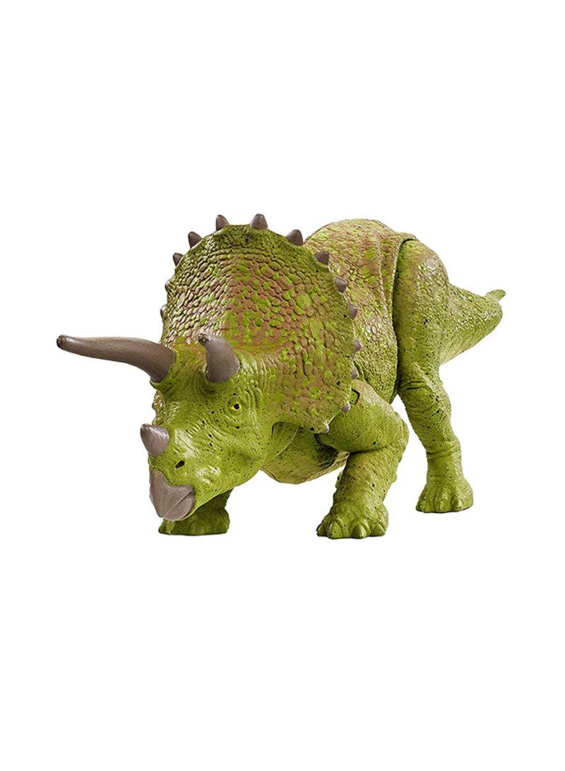 Shop Jurassic World Toys Battle Damage Triceratops Figure