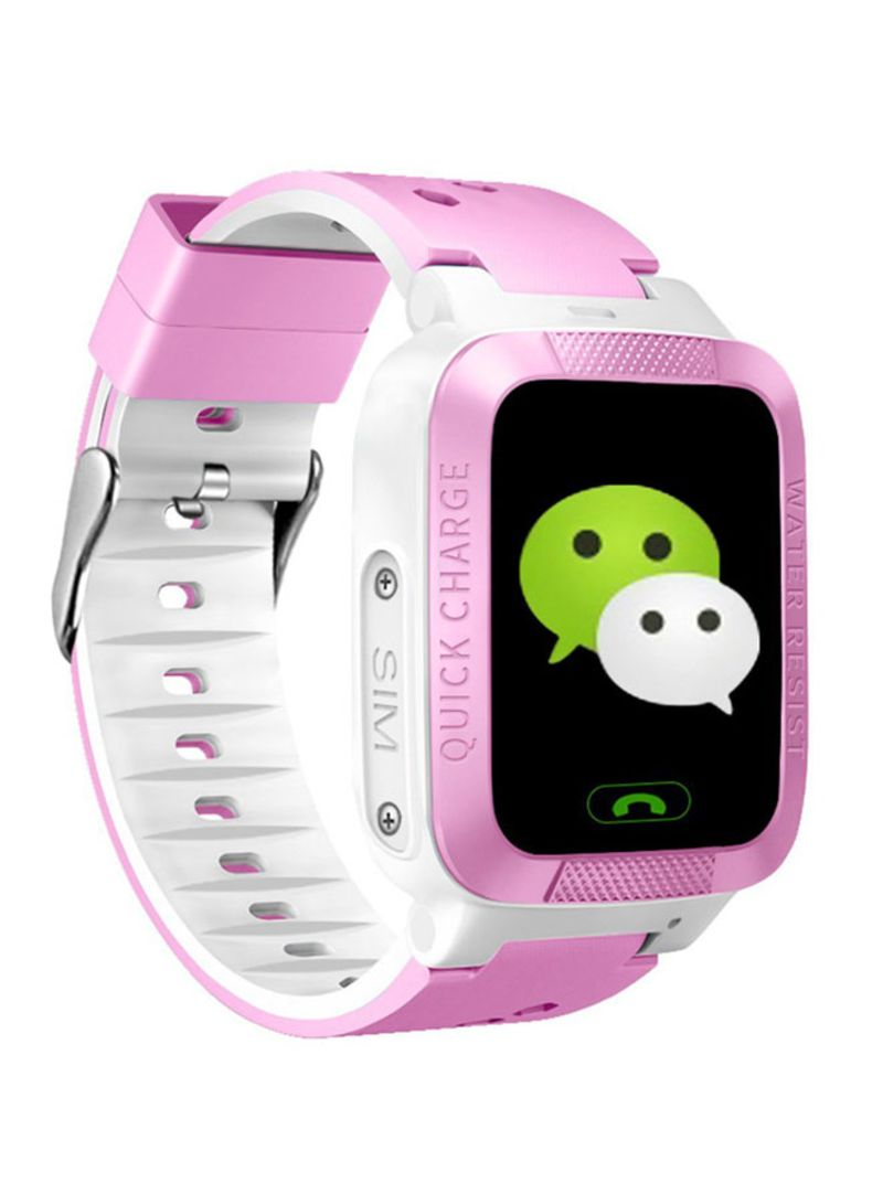Shop Generic Children Smart Watch GPS Tracker Monitor SOS Call Camera Phone  Watch Pink One Size online in Dubai, Abu Dhabi and all UAE