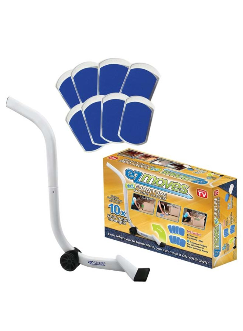 Shop Ezmoves Furniture Moving Pads System White Online In Dubai Abu