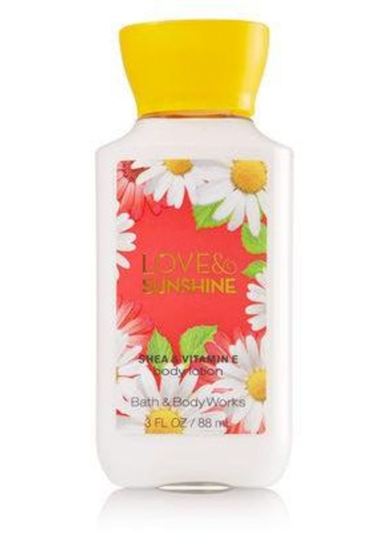 d389c1ca2f2 Shop Bath & Body Works Love and Sunshine Body Lotion 88 ml online in ...